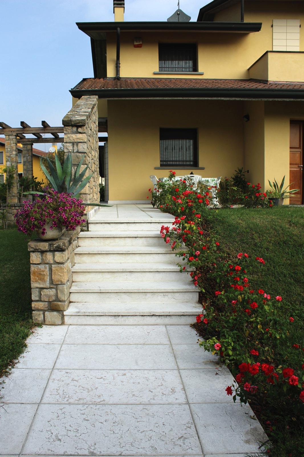 [51] Ortogonalità classicheggianti - homes, lessinia stone, porphyry, white lessinia stone, purple porphyry, stone paving, stairs